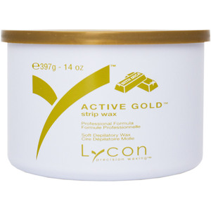 Lycon Active Gold - Soft Strip Wax 14 oz. Tin (WSLL5004)