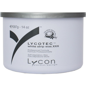 Lycon LYCOtec White - Soft Strip Wax 14 oz. Tin (WSLL9504)