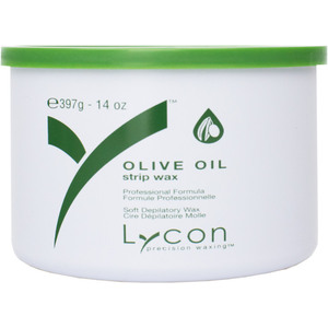 Lycon Olive Oil - Soft Strip Wax 14 oz. Tin (WSLL1504)