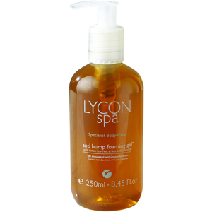 Lycon Anti-Bump Foaming Gel with Lemon Tea Tree Arnica and Calendula 250 mL. - 8.45 oz. Each Case of 25 - Retail Item! (LSBAB250 X 25)