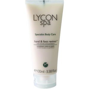 Lycon Hand & Foot Reviver with Keratin and Panthenol 100 mL. - 3.38 oz. Each Case of 25 - Retail Item! (LSBHF100 X 25)