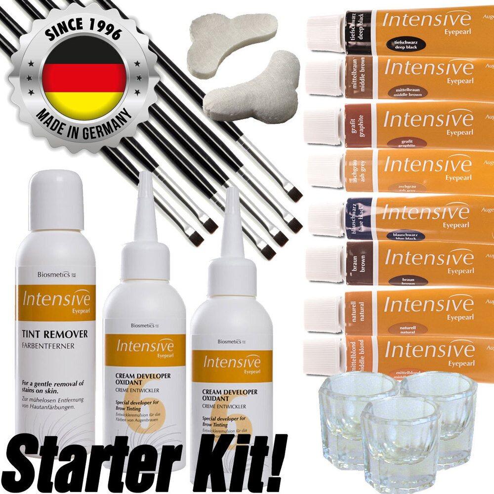 20ad2e8c23b INTENSIVE LASH & BROW TINT - Original Orange Box EyePearl - Starter Kit -  The Original Since 1996 - Made in Germany