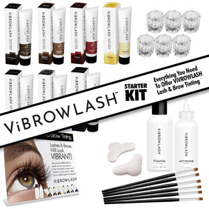 Vibrowlash STARTER KIT - Certified Vegan and Cruelty-Free Lash & Brow Tint