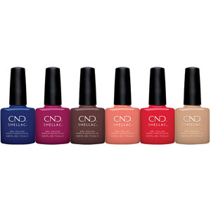 CND Shellac - Wild Earth Collection - Complete 6 Color Set - The 14 Day Manicure is Here! (768638)