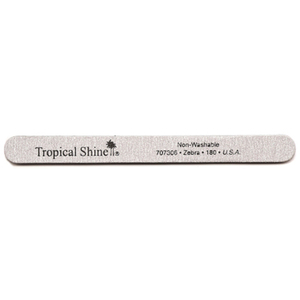 Zebra File - Medium 180 Grit by Tropical Shine (707306)