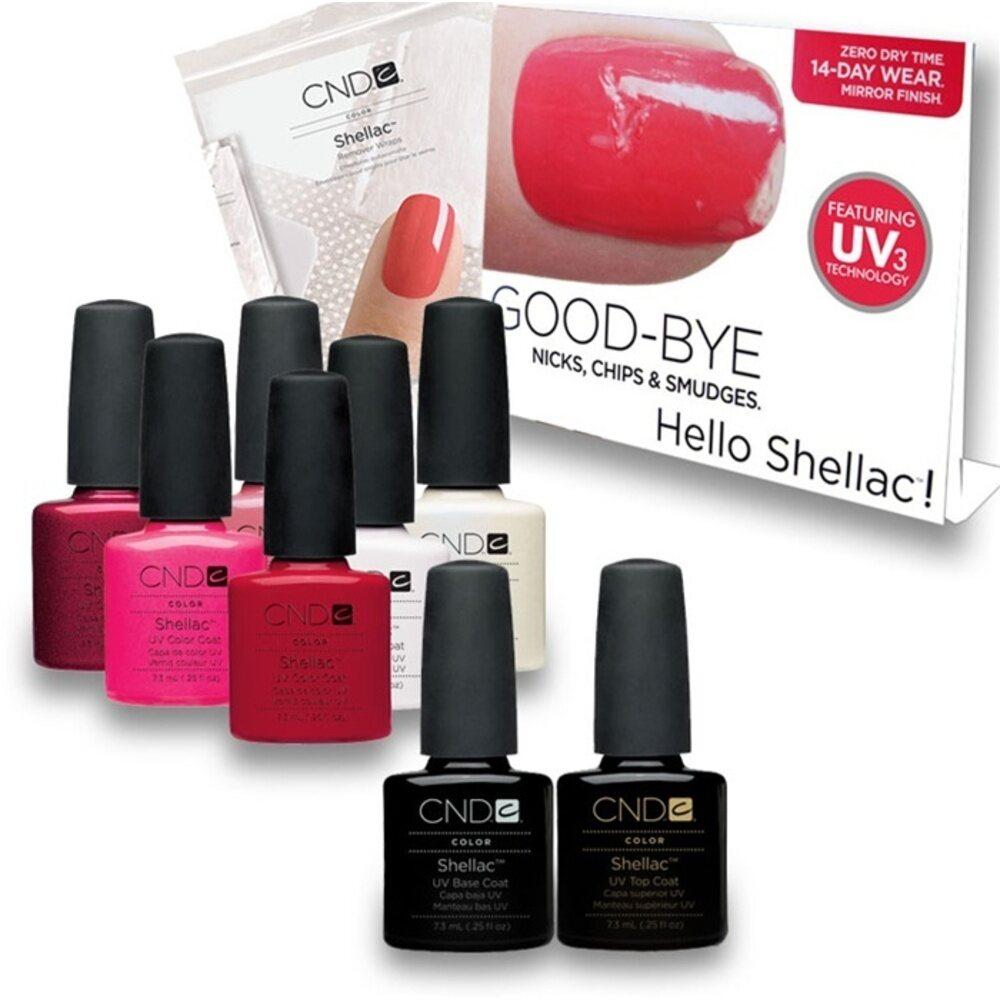 Cnd Shellac Salon Kit