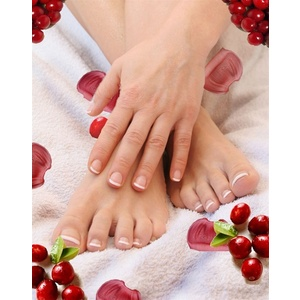 A Taste of Autumn - Cranberry Spa Pedicure Package