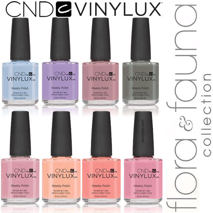 CND Vinylux Polish - Spring 2015 Flora & Fauna Collection - Complete ...