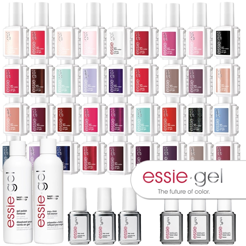 Essie Gel Color MEGA BUNDLE LED Cured Gel Polish System