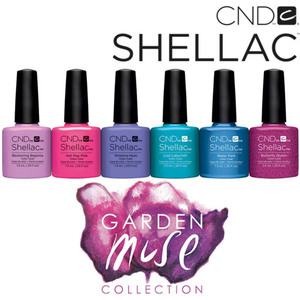 CND SHELLAC UV Color Coat - 2015 Garden Muse Collection 6 Piece Color Set - The 14 Day Manicure is Here! ()