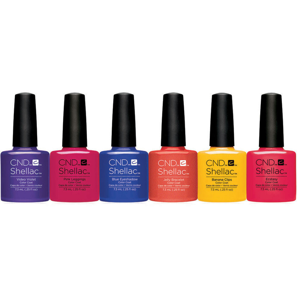 Shellac - Spring 2017 New Wave Collection - 6 Piece Set (768988)
