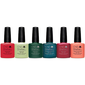 CND Shellac - Summer 2017 Rhythm & Heat Collection - 6 Piece Set (768989)