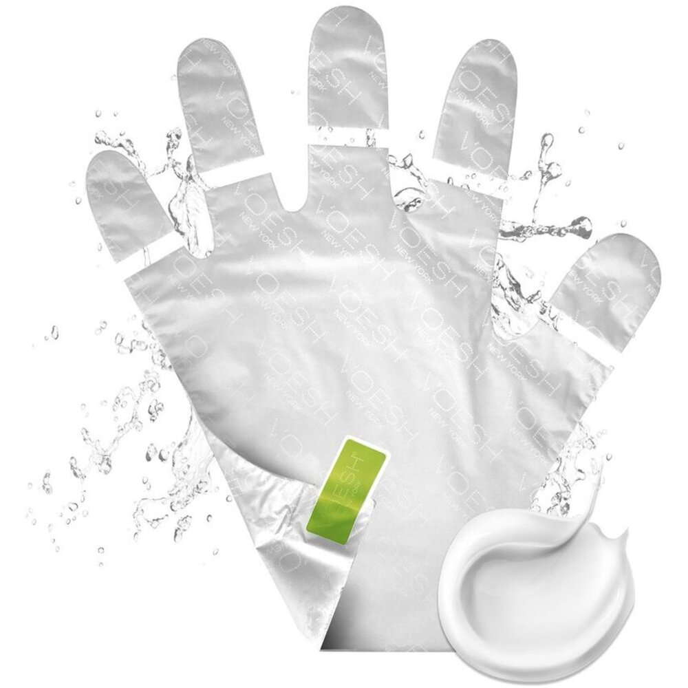 Collagen Gloves with CBD Hemp-Derived Cannabis Seed Oil and Eucalyptus  Extract - Hand Mask Gloves with Pre-cut Fingertips for Easy Manicures! /  100