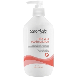 Caronlab After Wax Soothing Lotion - Mango & Witch Hazel 8.4 oz. - 250 mL. per Bottle X 8 Bottles = 33.8 oz. - 1 Liter (USCL-2AMW250 X 8)