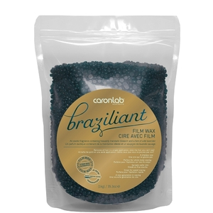 Caronlab Professional Elite Wax - Brazilliant Film Hard Wax Beads 35.3 oz. - 1 Kg. Bag (276 0453)