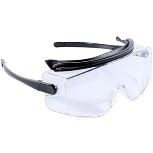 Polycarbonate Safety Goggle Glasses - Splash Protection + Anti-Fog + Scratch Resistant + Impact Resistant + Low Distortion + UV Protection Box of 6 (DT7010 X 6)