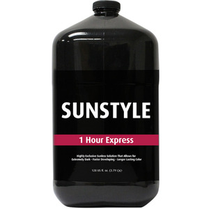 Sunstyle Sunless - 1-Hour Express Airbrush Solution 128 oz. - 1 Gallon (M45072 - 45070)