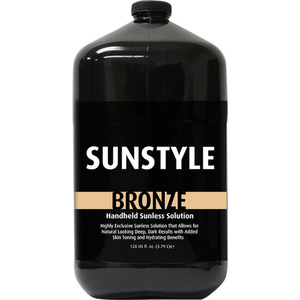 Sunstyle Sunless - Bronze Airbrush Solution 128 oz. - 1 Gallon (M40017 - 40017)