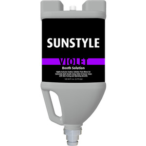 Sunstyle Sunless - Violet Vented Booth Solution 128 oz. - 1 Gallon (45043)