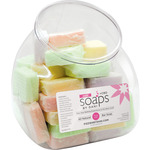 Fizzies by Dani Mini Soaps +CBD Assorted Fishbowl 24 Count - Great Retail for Point of Purchase! (SFB1548)