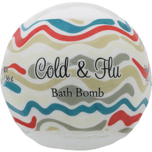 Primal Elements Bath Bomb - COLD & FLU 4.8 oz - 136 grams (M50909 - 50960)