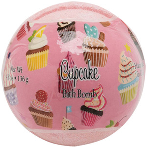 Primal Elements Bath Bomb - CUPCAKE 4.8 oz - 136 grams (M50909 - 50920)