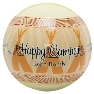 Primal Elements Bath Bomb - HAPPY CAMPER 4.8 oz - 136 grams (M50909 - 50911)