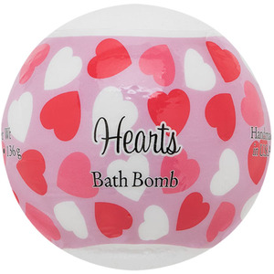 Primal Elements Bath Bomb - HEARTS 4.8 oz - 136 grams (M50909 - 50922)