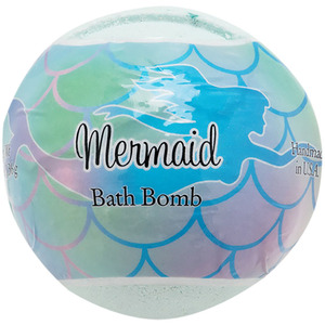 Primal Elements Bath Bomb - MERMAID 4.8 oz - 136 grams (M50909 - 50919)