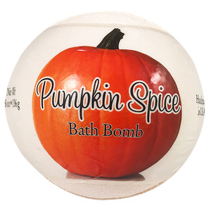 Primal Elements Bath Bomb - PUMPKIN SPICE 4.8 oz - 136 grams (M50909 - 50916)