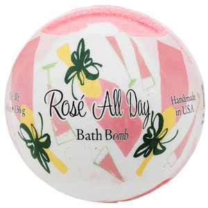 Primal Elements Bath Bomb - ROSEÉ ALL DAY 4.8 oz - 136 grams (M50909 - 50949)