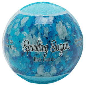 Primal Elements Bath Bomb - SPARKLING SUGAR 4.8 oz - 136 grams (M50909 - 50913)