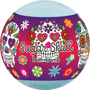 Primal Elements Bath Bomb - SUGAR SKULL 4.8 oz - 136 grams (M50909 - 50954)