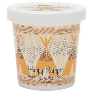Primal Elements Sugar Whip - HAPPY CAMPER - Moisturizing Body Scrub 10 oz. - 283 grams (M50900 - 50903)