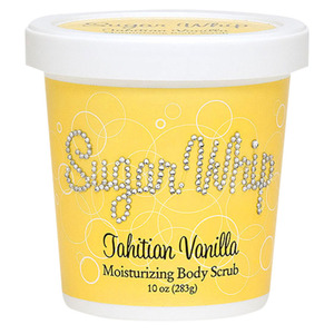 Primal Elements Sugar Whip - TAHITIAN VANILLA - Moisturizing Body Scrub 10 oz. - 283 grams (M50900 - 50906)