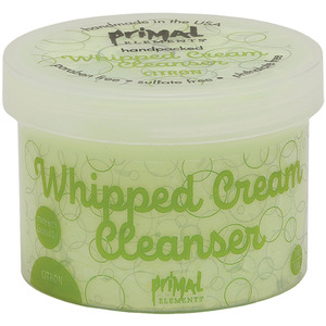 Primal Elements Whipped Cream Cleanser - CITRON 7 oz. - 198 Grams (M50987 - 50988)