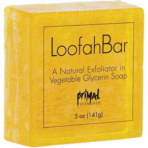 Primal Elements Daisy Loofah Bar Soap - DAISY 5 oz. - 141 grams (50643)