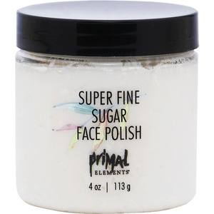 Primal Elements Super Fine Sugar Face Polish 4 oz. - 113 grams (50997)