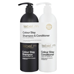 Label.M Colour Stay Shampoo & Conditioner Duo 25.36 oz. - 750 mL. Each (101112)