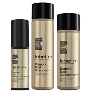 Label.M Diamond Dust Trio Set - Diamond Dust Leave-in Creme + Diamond Dust Shampoo + Diamond Dust Conditioner (101143)