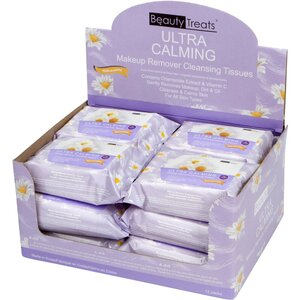 BEAUTY TREATS - Ultra Calming Make-Up Remover Cloths 12 Packs of 30 (12088)