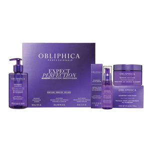 Obliphica Seaberry Regimen Thick to Coarse - Seaberry Shampoo Thick to Coarse + Seaberry Hair Mask Thick to Coarse + Seaberry Serum Thick to Coarse (145024)