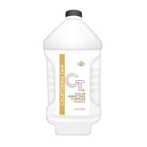 California Tan - Color Perfecting Complex Ultra Dark Clear Solution 1 Gallon Vented (M21753 - 21755)