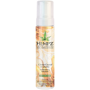 Hempz Citrine Crystal & Quartz Body Wash 8.5 oz. - 250 mL. (50739)
