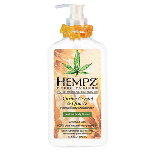 Hempz Citrine Crystal & Quartz Moisturizer 17 oz. - 500 mL. (50737)