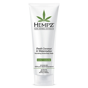 Hempz Coconut & Watermelon Body Wash 8.5 oz. - 250 mL. (41303)