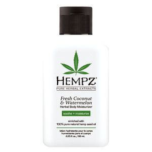 Hempz Coconut & Watermelon Moisturizer 2.25 oz. - 66 mL. (M41300 - 41301)