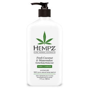 Hempz Coconut & Watermelon Moisturizer 17 oz. - 500 mL. (M41300 - 41300)