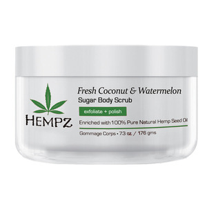 Hempz Coconut & Watermelon Sugar Scrub 7.3 oz. - 176 grams (41413)