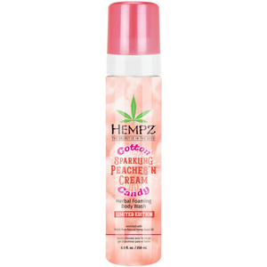 Hempz Cotton Candy Sparkling Peaches 'N Cream Foaming Body Wash 8.5 oz. - 250 mL. (41915)